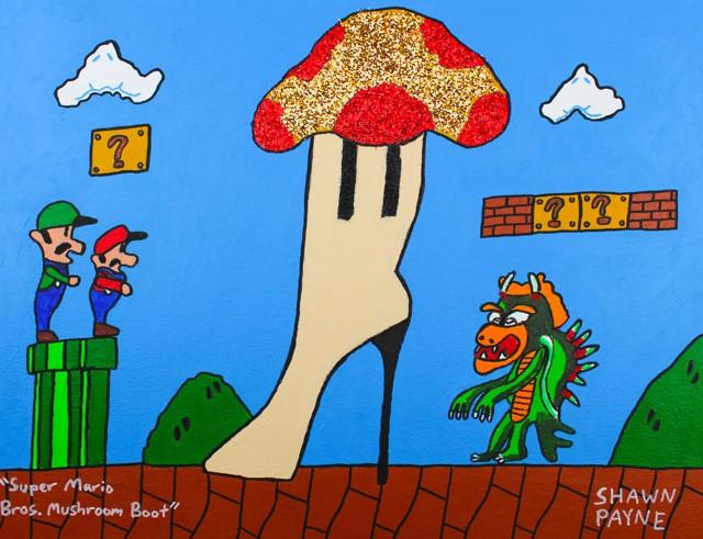 Super Mario Bros. Mushroom Boots