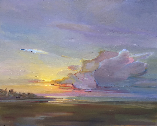 "Holly Ready | After the Storm | Oil on Canvas | 24"" X 30"" 