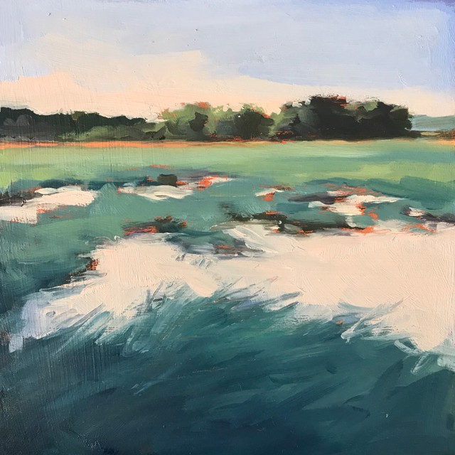 "Margaret Gerding | Close to Home - Day 4 | Oil on Panel | 8"" X 8"" 