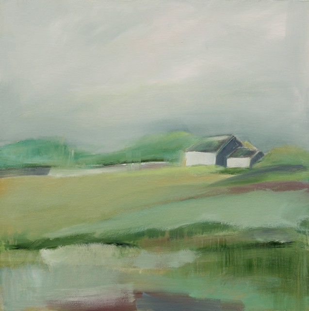 "Ingunn Milla Joergensen | After the Rain | Oil on Canvas | 30"" X 30"" 