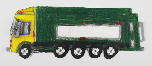 Road Truck (FRAMED)