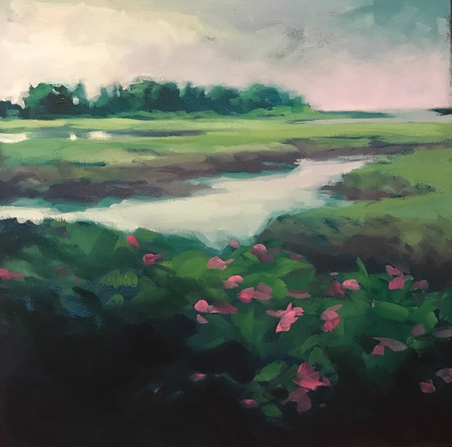 Beach Roses - Study