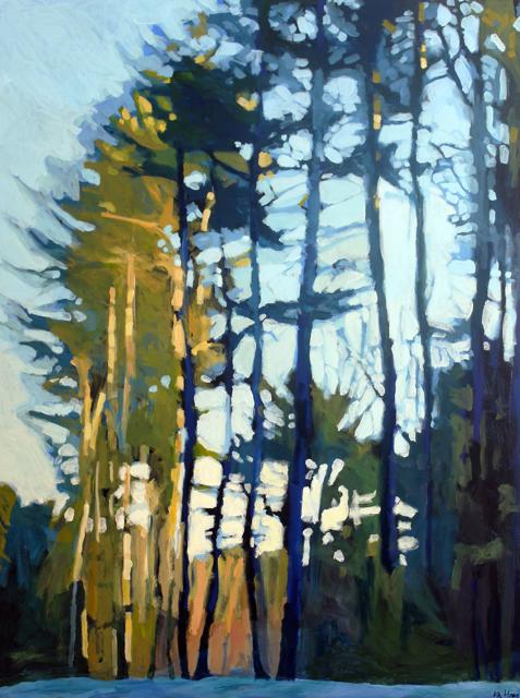 "Liz Hoag | Another Sunset | Acrylic | 48"" X 36"" | $3,800.00"