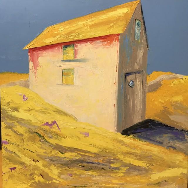 "Janis H. Sanders | Bright Morning Light | Oil on Panel | 20"" X 20"" | Sold"