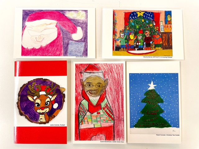 Holiday Greeting Cards 5 Pack, Edition 4