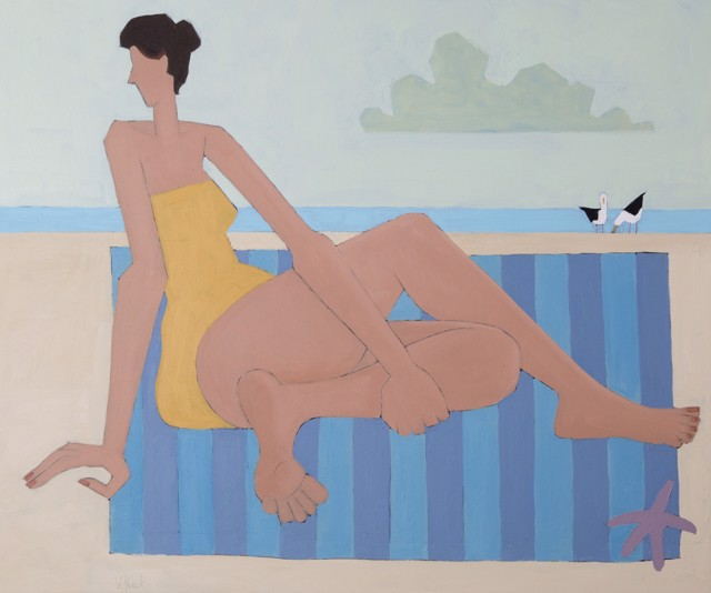 "David Witbeck | Barbara | Oil on Panel | 30"" X 36"" 