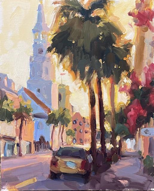 Broad Street Dusk, Study