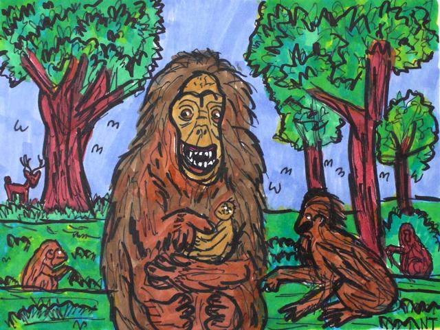 Orangutan Communication