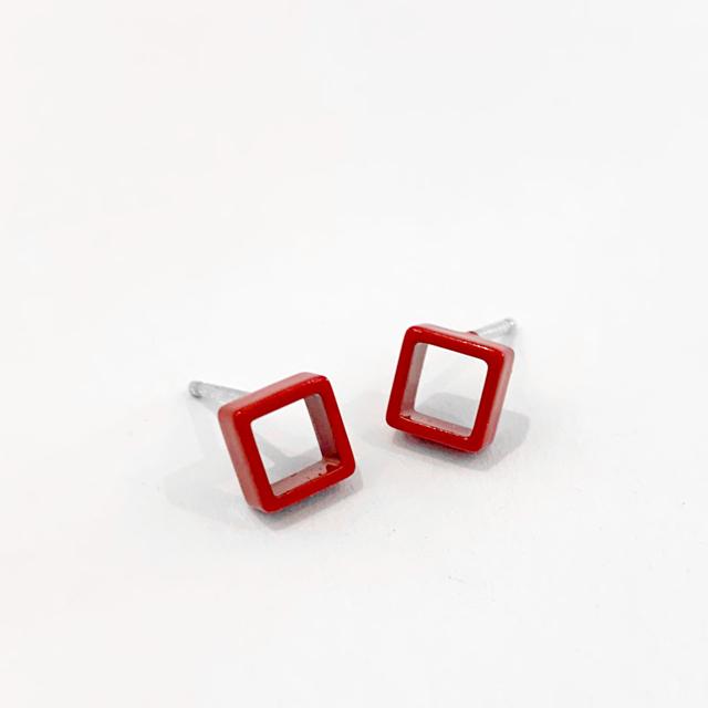 Mini Square in Red