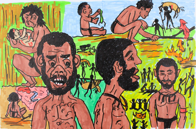 New Guinea Villagers