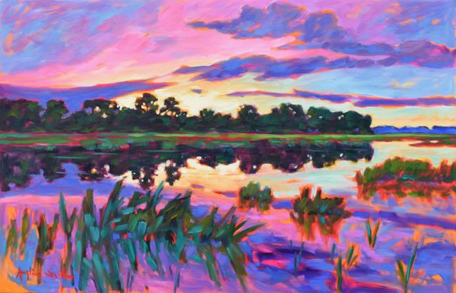 Sunset on Tripp's Creek