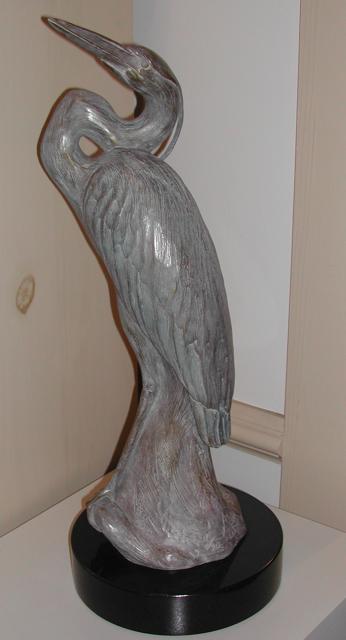 Standing Heron, Maquette