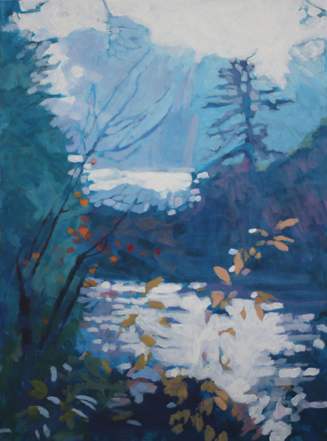 "Liz Hoag | White Light | Acrylic on Canvas | 24"" X 18"" | $1,200.00"