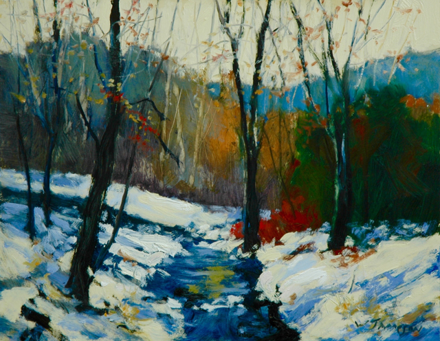 Carolina Winter Creek