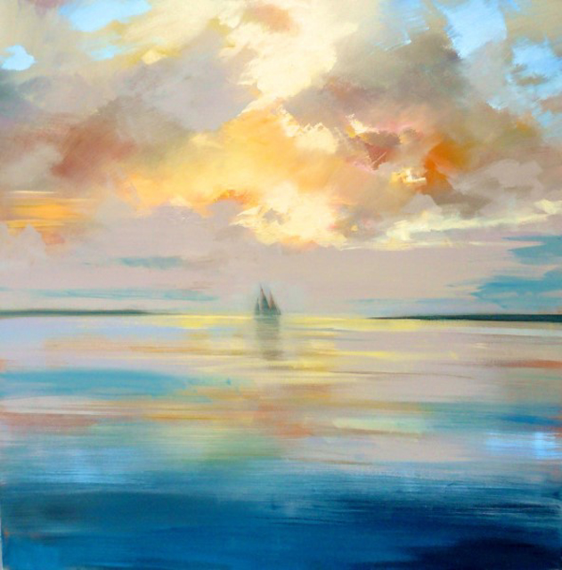 "Craig Mooney | Cruisin' | Oil | 48"" X 48"" 