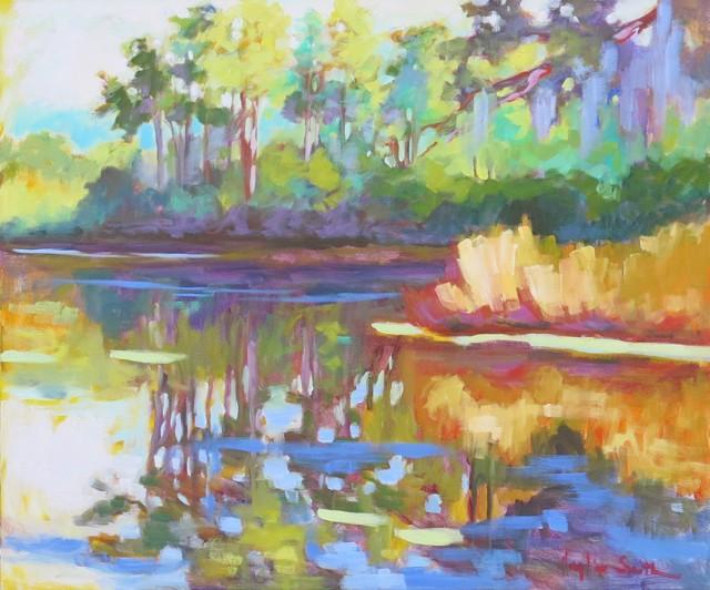 Reflections on Duckweed Pond