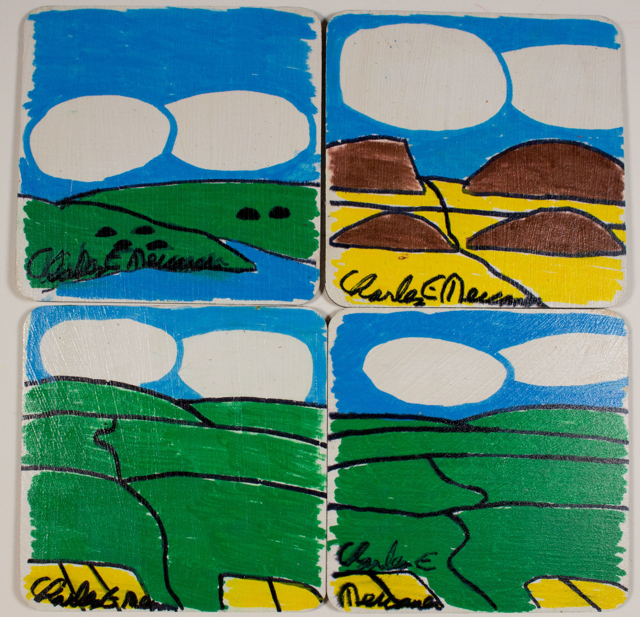 Landscape (coaster set)