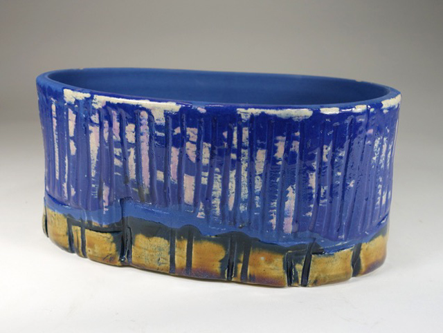 "Kevin Keiser | Blue Note | Ceramic | 4"" X 9"" 
