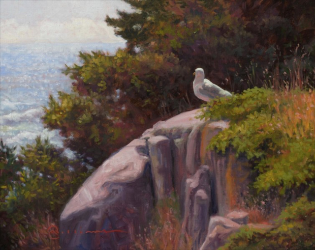 "Abbie Williams | Sentry 21 | Oil | 16"" X 20"" 