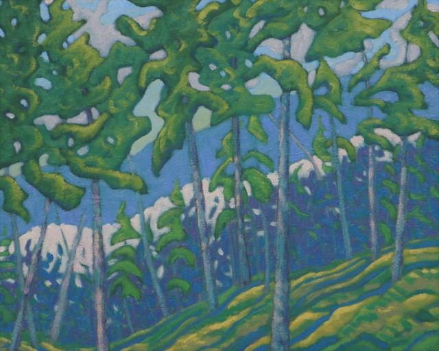 "R. Scott Baltz | The Layer Between | Oil on Panel | 16"" X 20"" | $2,000.00"