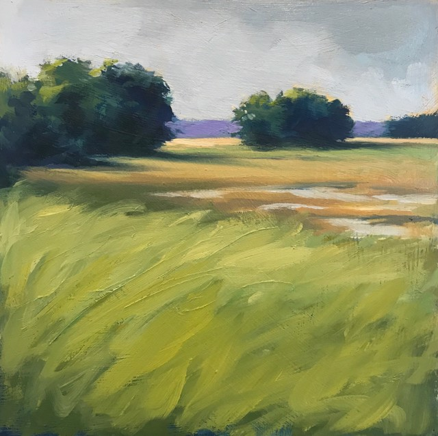 "Margaret Gerding | Close to Home - Day 6 | Oil on Panel | 8"" X 8"" 