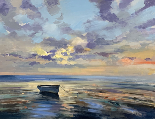 "Craig Mooney | Timeless Shore | Oil | 36"" X 48"" 