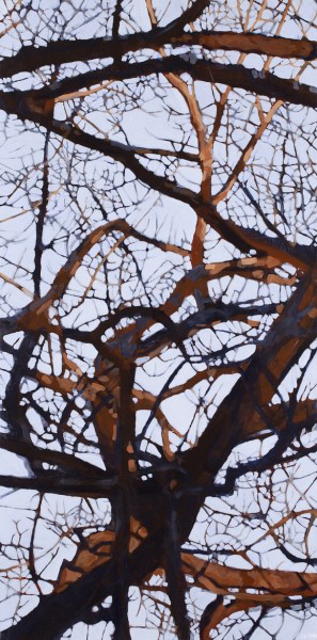 "Liz Hoag | Tangle 5 | Acrylic | 48"" X 24"" 