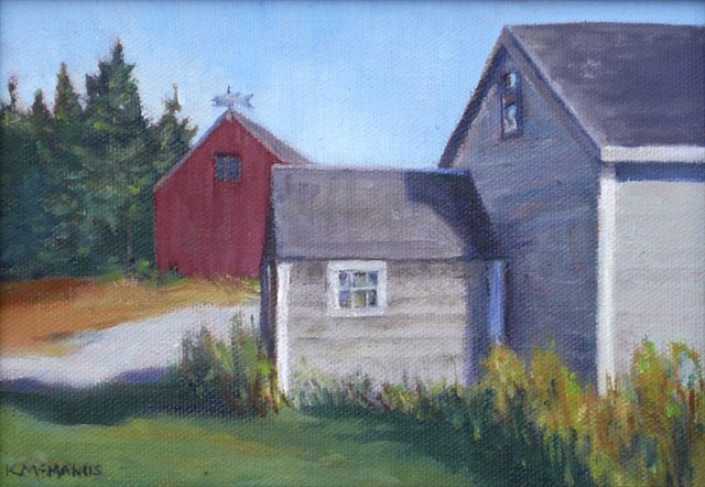 Grey Sheds, Stonington
