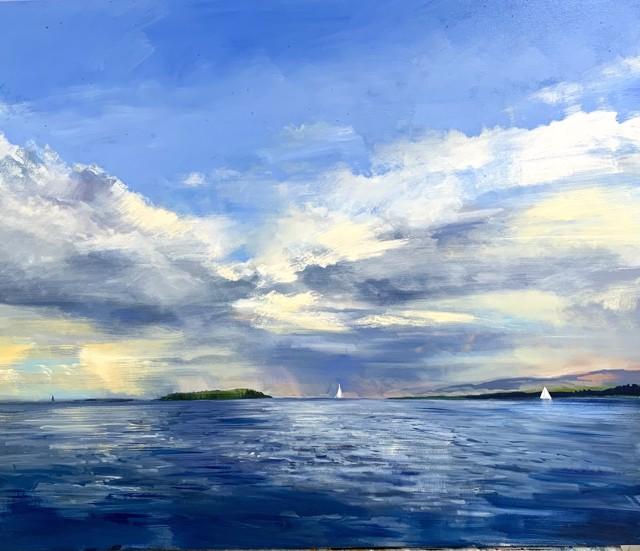 """Craig Mooney   Sea Wind   Oil on Canvas   48"""" X 60""""   Sold"""