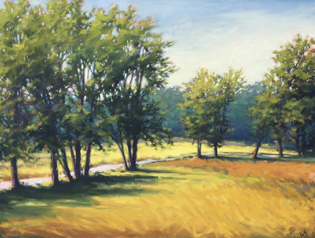 "Margaret Gerding | Laudholm Farm | Oil on Canvas | 30"" X 40"" 