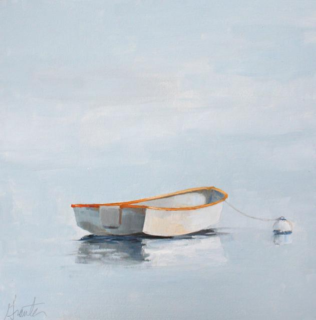 "Ellen Welch Granter | Bright Matter | Oil on Panel | 12"" X 12"" | Sold"