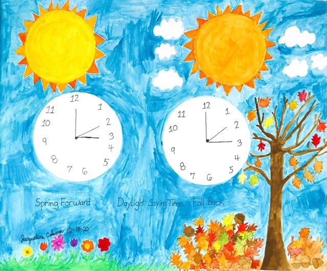 Daylight Saving Time 2 (FRAMED)