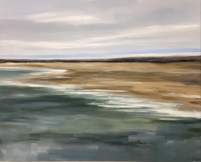 "Jill Matthews | Beach Break | Oil | 48"" X 60"" | $4,500.00"
