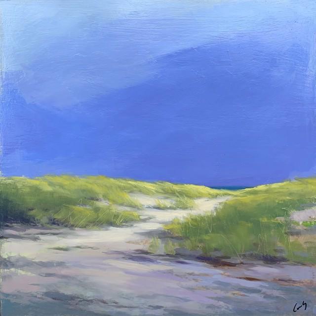 """Margaret Gerding   Maine Moments - Day 12   Oil on Panel   12"""" X 12""""   $1,750.00"""