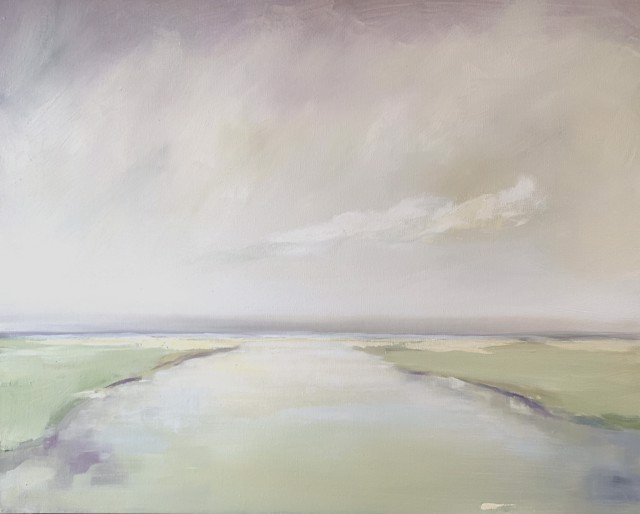 "Ingunn Milla Joergensen | Early Morning Reflections #2 | Oil on Canvas | 24"" X 30"" | $2,000.00"