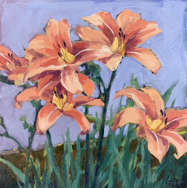 Lillies 12 x 12
