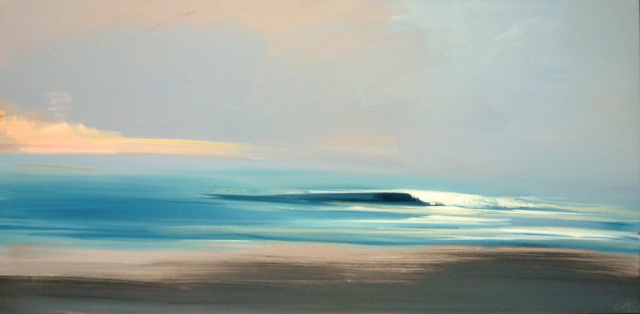 "Craig Mooney | Cresting Wave | Oil | 24"" X 48"" 