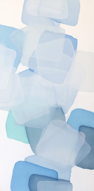 "Charles Bluett | Graded Shades | Oil on Canvas | 36"" X 18"" | $3,500.00"