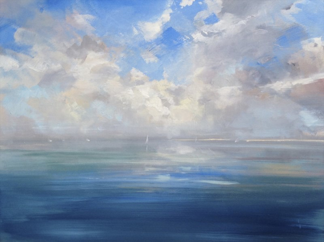 "Craig Mooney | Tidal Breeze | Oil | 36"" X 48"" 