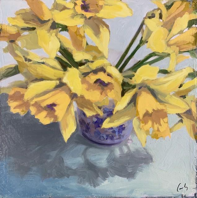 Daffodils 12 x 12