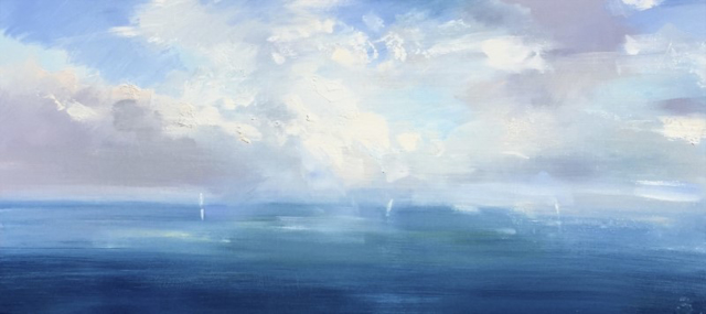 "Craig Mooney | Lost Horizon | Oil | 17.5"" X 36"" | $3,500.00"