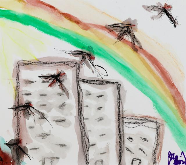 Birds Through the Rainbow