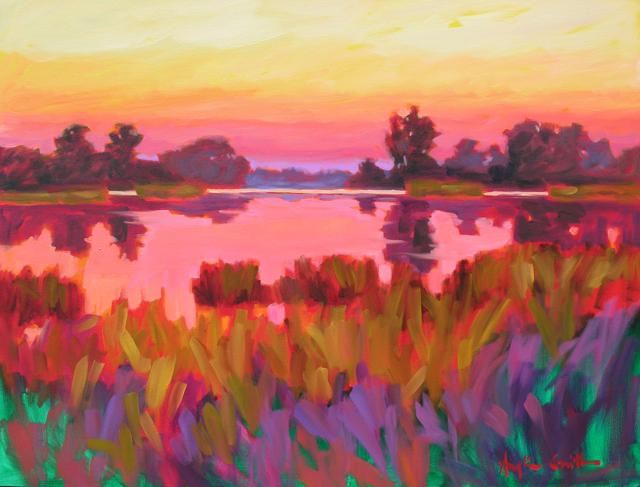 Light on the Pond