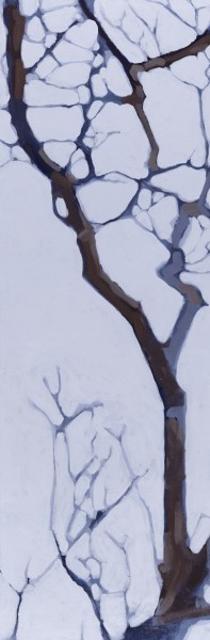 "Liz Hoag | Soft Tangle 4 | Acrylic | 36"" X 12"" | Sold"