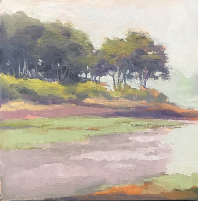 "Margaret Gerding | Close to Home - Day 13 | Oil on Panel | 8"" X 8"" 