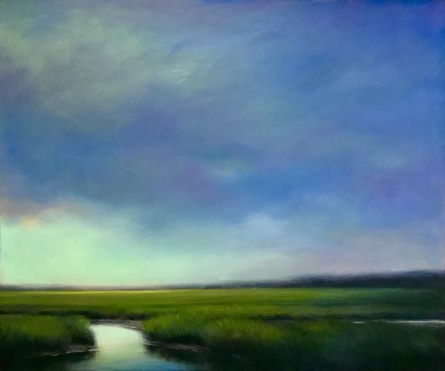 "Margaret Gerding | Aqua Cleansing | Oil on Panel | 30"" X 40"" | $6,500.00"
