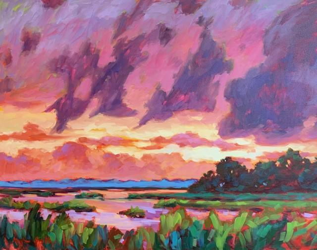 Pink Sunset, II
