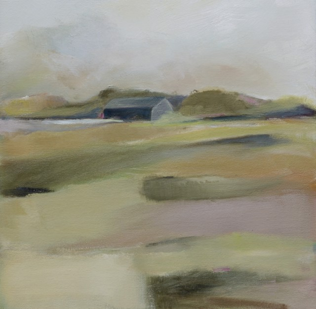 "Ingunn Milla Joergensen | Homestead #1 | Oil on Canvas | 20"" X 20"" 