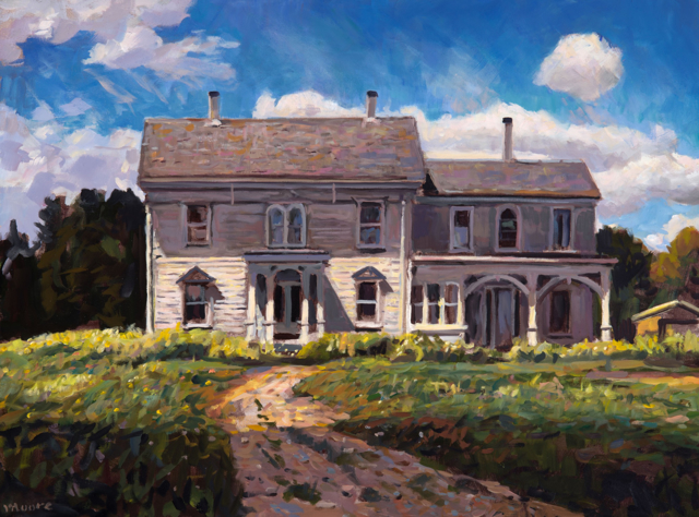 "Scott Moore | The Jackson House | Oil | 30"" X 40"" 