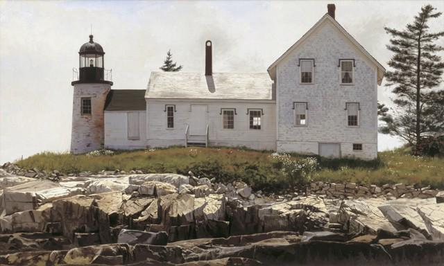 Mark Island Light 28 x 48